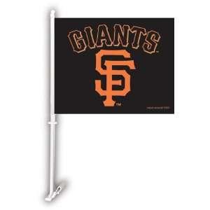 MLB San Francisco Giants Double Sided Car Flag   Set of 2