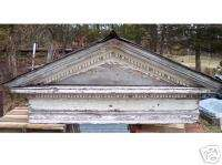 Antique Pediment, Roof, Garden shed