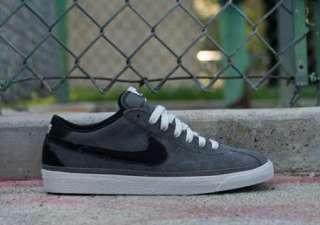 Nike SB Bruin Classic Dark Grey Black White low gum green supreme