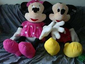MICKEY MOUSE MINNIE MOUSE GIANT PLUSH STUFFED TOY 43