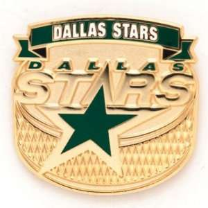 DALLAS STARS OFFICIAL LOGO LAPEL PIN Sports & Outdoors