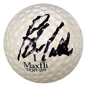 Blaine McCallister Autographed / Signed Golf Ball Sports