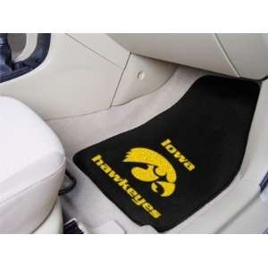 University of Iowa Hawkeyes Car Auto Floor Mats Front Seat