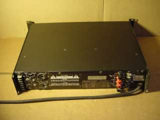CREST AUDIO MODEL LA 901 POWER AMPLIFIER. GOOD CONDITION