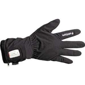 Venture Battery Powered Heated Glove Liners , Color Black