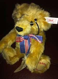Beautiful mohair Steiff Bear~ Teddys Bear WITH BOOK