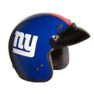 New York Giants NFL Football Motorcycle Helmet Open Face