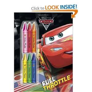 Full Throttle (Disney/Pixar Cars) (Deluxe Chunky Crayon Book) Frank