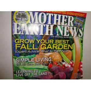 Mother Earth News Magazine Aug/Sept 2009 Bryan Welch