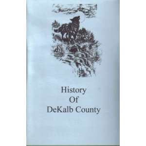 History of Dekalb County Tennessee unknown Books