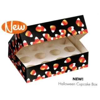 Candy Corn Cupcake Holder BOX Halloween Thanksgiving