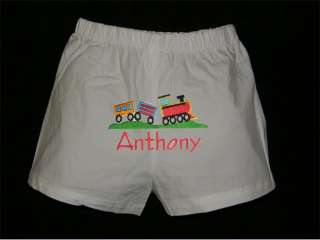 PERSONALIZED Boys Diaper Cover, Baby Boxer Shorts