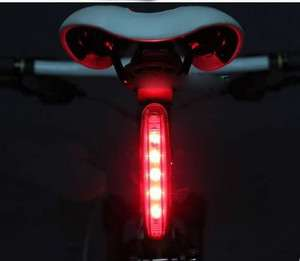 LEDS Cycling Bicycle Rear Back Tail Light Lamp Red