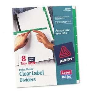 New Index Maker Divider W Color Tabs Case Pack 1 498324