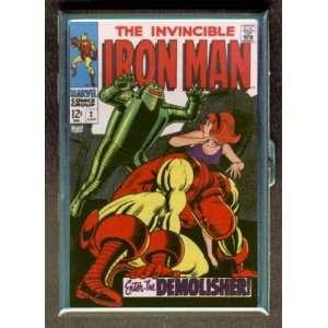 IRON MAN #2 1968 COMIC BOOK ID CIGARETTE CASE WALLET