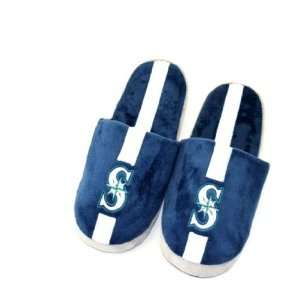 Seattle Mariners Mens Slippers House Shoes: Sports
