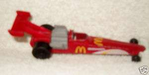 HOT WHEELS 1993 McDONALDS Race Car MATTEL 5 L