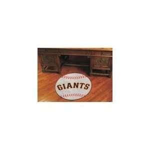 San Francisco Giants MLB Baseball Round Floor Mat (29