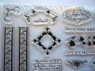 Clear Stamp Set ~LOVE~ by FISKARS