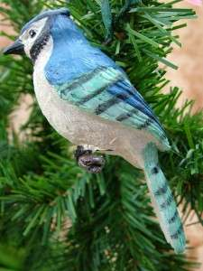 New Blue Jay Bird Birds Christmas Tree Ornament