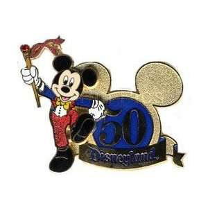 Pin 38499 DLR   50th Anniversary (Mickey Mouse) 3d