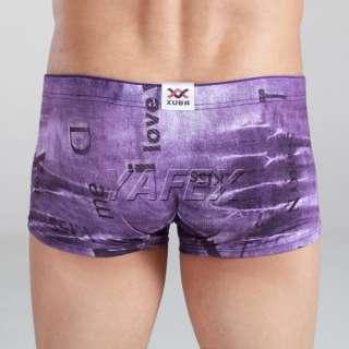 Amazing~XUBA New stylish mens boxers briefs short underwear XS S M L