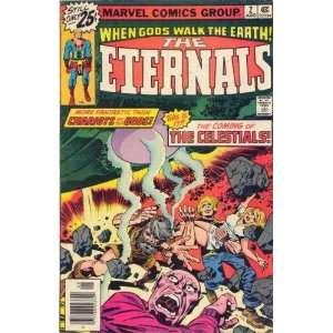 Eternals #2 Marvel Comic Group Jack Kirby Books