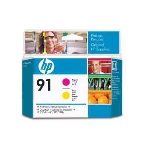 HEWLETT PACKARD 91 Magenta And Yellow Printhead Works With