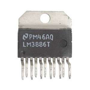 LM3886T Overture Audio Power Amp IC TO 220 11 Pin: Electronics