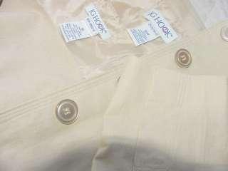 New ~~~ J G HOOK dress suit Solid Beige Linen ~~ 16/16W
