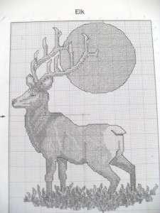 lot of 6 needlepoint and cross stitch books and 1 individual pattern