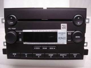 04 05 06 FORD Fusion F150 Mustang Radio 6 Disc CD Changer Player AUX
