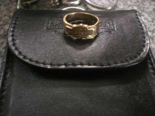 HARLEY 14K STAMPER BLACK HILLS YELLOW GOLD WOMENS LADIES WEDDING RING