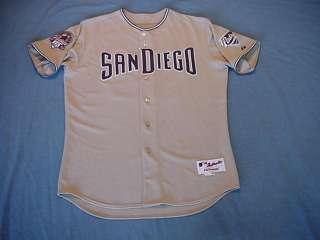 Duaner Sanchez 2009 San Diego Padres game used jersey