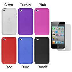 Premium Apple iPod Touch 4th Generation Silicone Case with Screen
