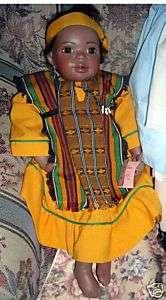 Judith Turner African American black doll LAKEA MIB