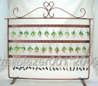 Jewelry Holder Display Rack For Earrings 72 Pairs d002