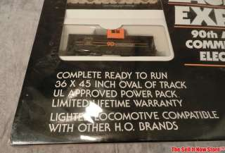 NIB Harley Davidson Eagle Express 90th Anniversary HO Electric Train