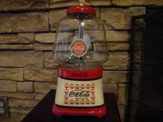 Vintage 1940s Silver King *COCA COLA* Gumball & Candy Vending Machine