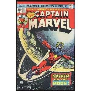 Captian Marvel, v1 #37. Mar 1975 [Comic Book] Marvel (Comic) Books