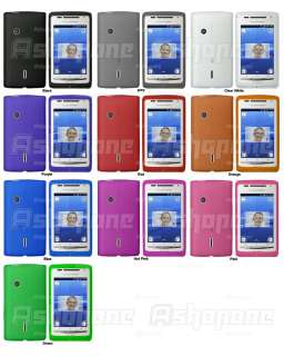 New Soft Clear TPU Gel Case For Sony Ericsson Xperia X8
