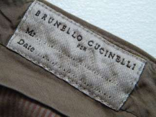 NWT BRUNELLO CUCINELLI Pants Mens 36 Moleskin Plush Trousers
