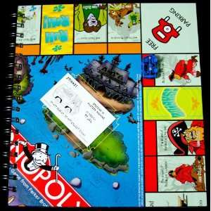 Scooby Doo Monopoly Game Recycled Journal by Eric Kirby Toys & Games