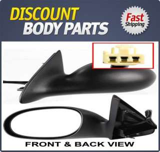 CH1320182 Left Mirror Power New 300 M Primered LH Driver Side Hand Car