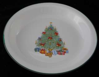 CORELLE HOLIDAY MAGIC CHRISTMAS TREE PIE PLATE PAN BAKING RARE