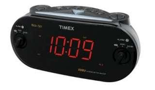Timex Bedside Digital Dual Alarm Clock AM/FM Radio Large LED Display