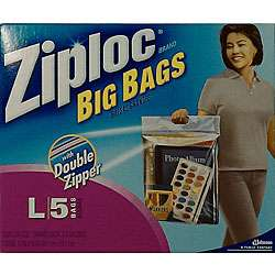 Ziploc Large 3 gallon Big Bags (40 count)