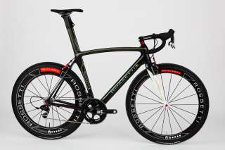 Rossetti Diablesse Black 54cm  Sram Red Black  Carbon Wheels