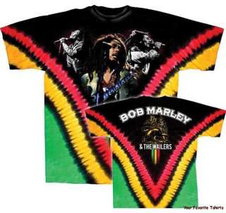 Licensed Bob Marley Perform Adult Shirt M XXL