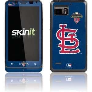 St. Louis Cardinals   World Series 2011 Distressed skin for Motorola